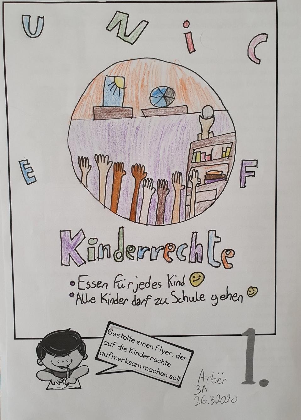 Arber-Flyer-Kinderrechte